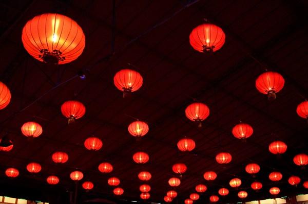 Китайские фонари в Opera house