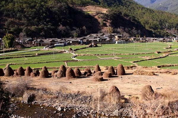 Китайские деревни по дороге