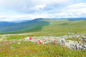 Предполагаемое место, где стояла палатка Дятловцев