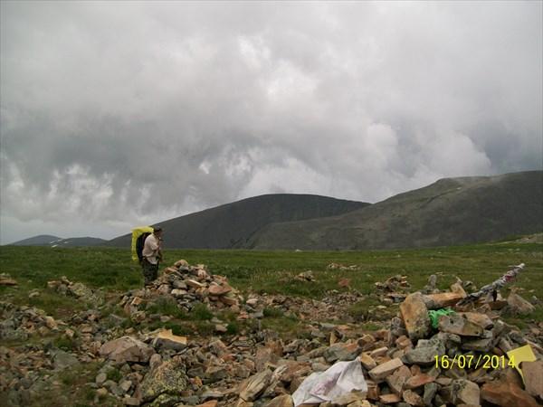 116 на КАраташском перевале