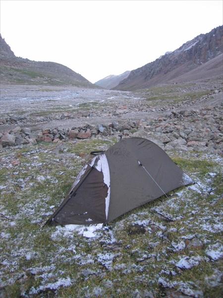 Ледяная палатка