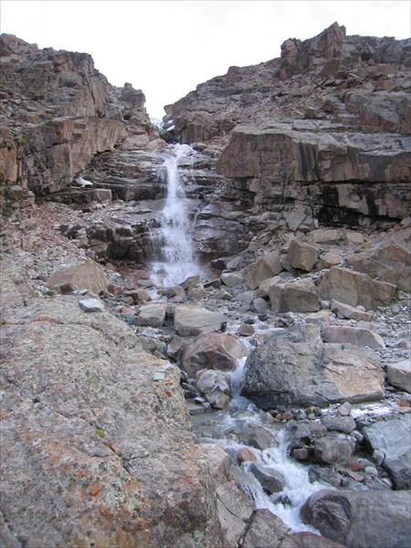 Водопад с ледника