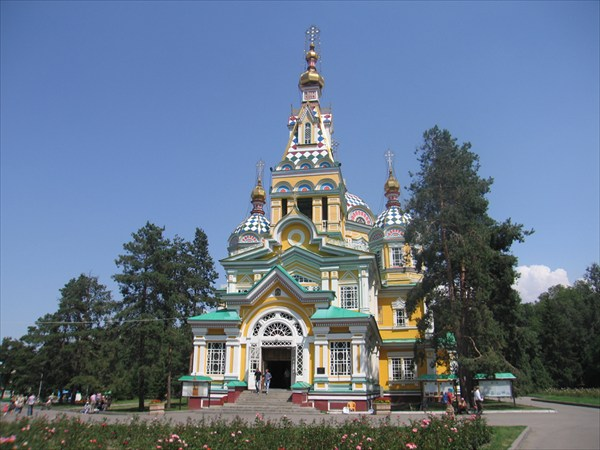 Вознесенский собор Зенкова, Алма-Ата