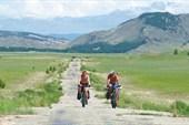 Дорога по левому краю Баргузинской долины