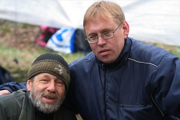 Морозов и тренер Ориенты-Весна