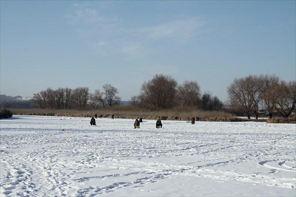 Отличная погода для зимней рыбалки!