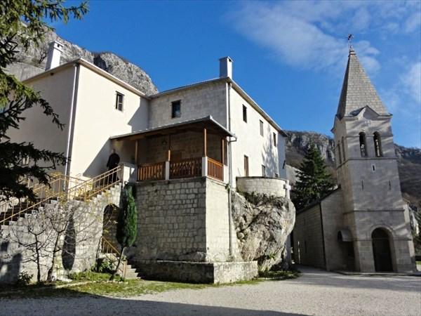 Церковь св.Троицы в Нижнем монастыре.
