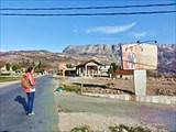 На дороге около Богетичи.