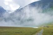 Туман (облако) тает
