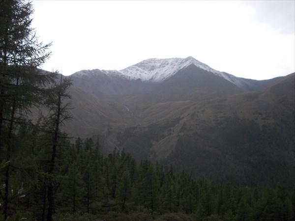 Кара-Тюрек завило снегом