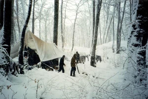 на фото: Снежная зима на Воронцовке