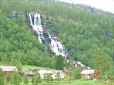 Водопад около г. Voss