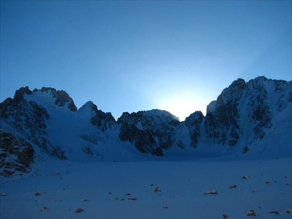 с ледника Ак-Сай
