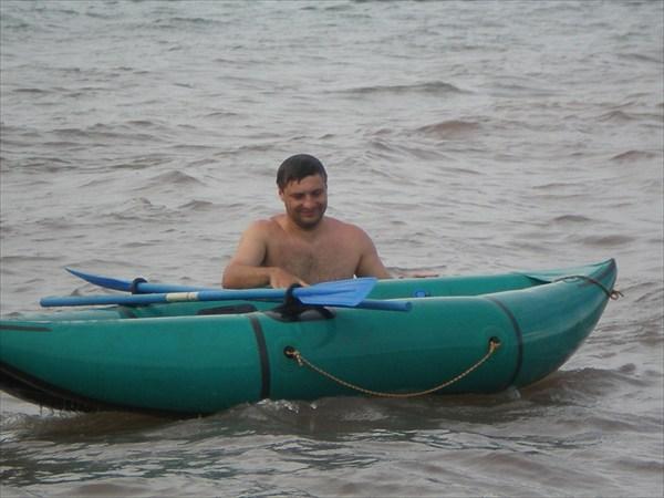 Катание на лодке на Беле