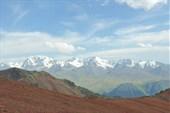 Перевал Каскелен вид на Кунгей Алатау