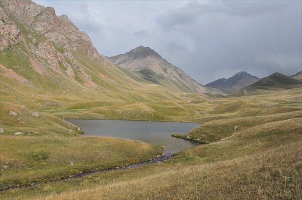 Озеро Жасылколь, река Каргалы