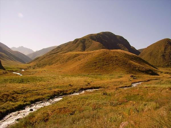Слияние рек Егоржан и Каргалы