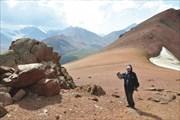 На перевале Каскелен Западный