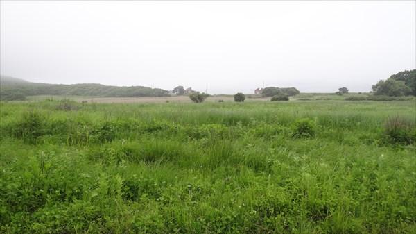 Перешеек на входе в полуостров Балюзек
