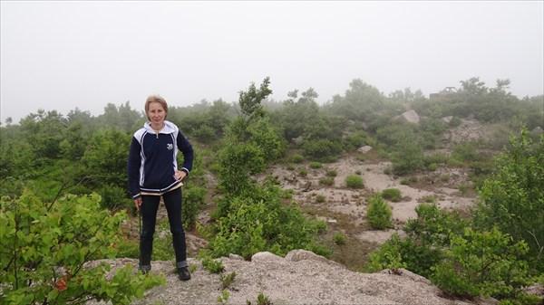 Ольга на горе Голая