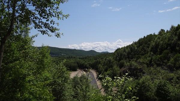 Долина у Горного обогатительной фабрики