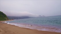 Туман над мысом Четырех скал