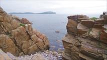 Вид с полуострова Рудановского