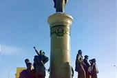 памятник краю Югра
