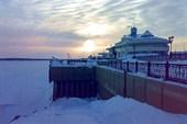 Речной порт Ханты-Мансийска