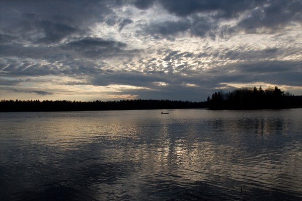 Шотозеро закат