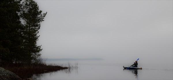 Острова в тумане. Шотозеро