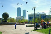 Астана, Новая площадь