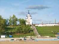Хабаровск.Церковь Успения Богородицы