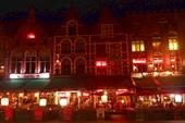 Центральная площадь ночью