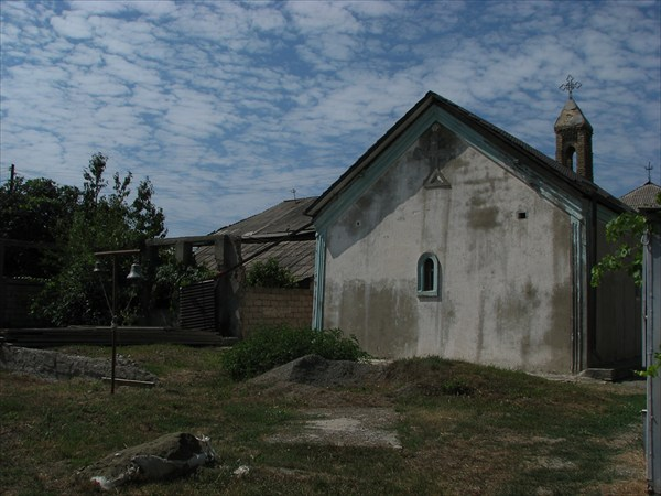 Церковь в Цхинвале