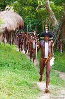 Племя в Новой Гвинее