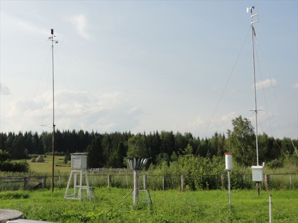 Метеостанция в Лосиноборском.