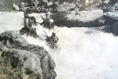 Прохождение водопада на Чаткале