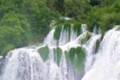 Водопады в парке Крка