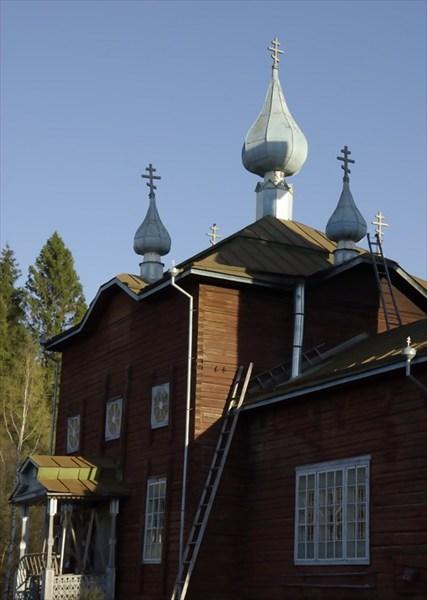 Деревянная церковь Ильи Пророка