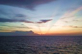 Закат над Малазией