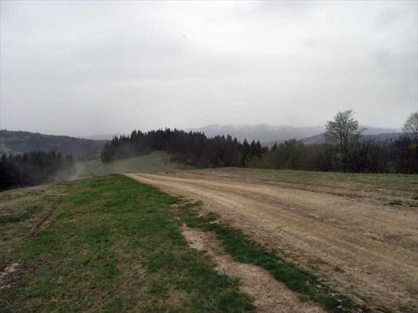 На перевале