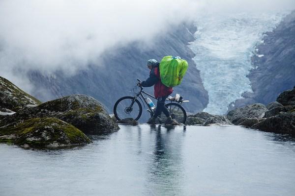 На тропе между ледниками