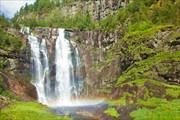 Норвегия. Водопады.