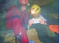 Отметим день Канады в пещере МакФэйлз. Лето 2007. ком. Чугунова.