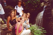 Водопад Сердце Руфабго, р. Руфабго, пос. Каменномостский