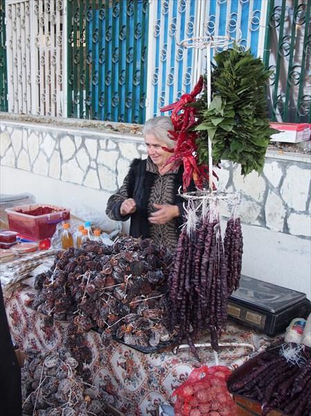 Рынок в Гагре