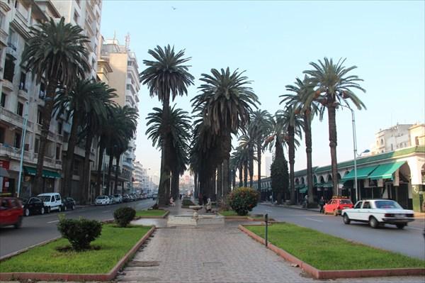 Бульвар в Касабланке