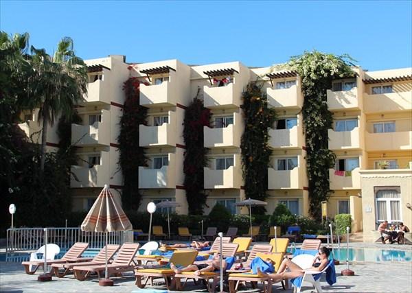Наш отель в Агадире