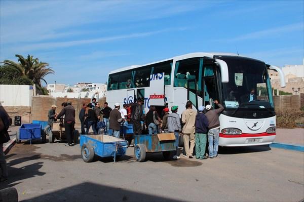 Уезжаем из Эссавиры в Марракеш